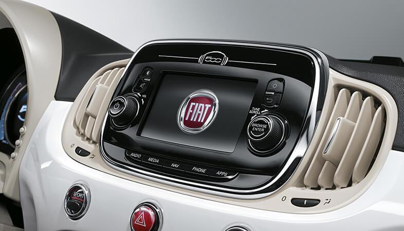 Ogromnie Fiat 500 | Stylowy samochód miejski | Komfort jazdy ON47